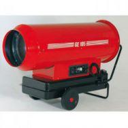 Puissant (105 w) générateur d'air chaud fioul à combustion directe …