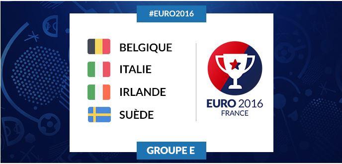 Groupe E : le groupe le plus relevé de l'Euro 2016