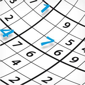pour votre mémoire, remplissez des grilles de sudoku !