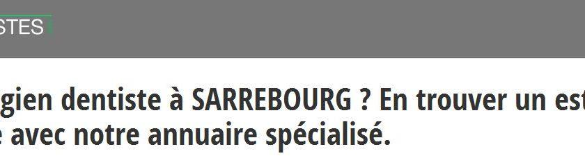 Les chirurgiens dentistes de Strasbourg sont réunis sur les-dentistes.org
