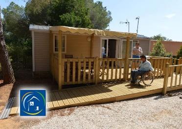 Votre camping adapté aux personnes handicapées dans le Var…