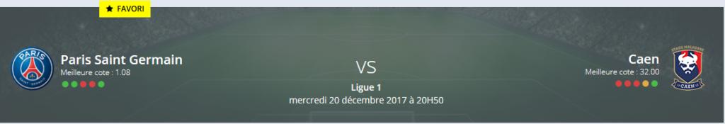 Quel sera votre pronostic PSG — Caen?