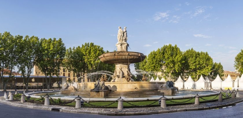 Aix en Provence is a beautiful city that's well worth a visit