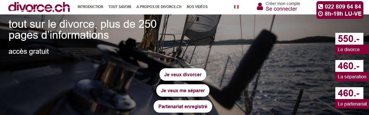 Les différents coûts possibles d'un divorce en Suisse ? Cliquez sur l'image !